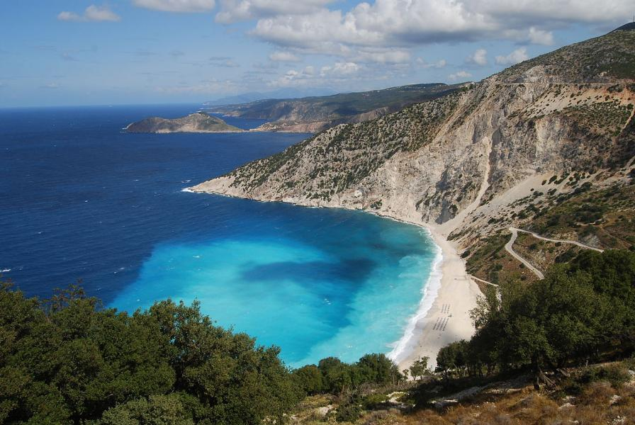 Kefalonia Island Myrtos Beach