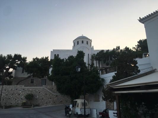 Trion Spetsioton Neomartyron Church  Spetses - by konhat