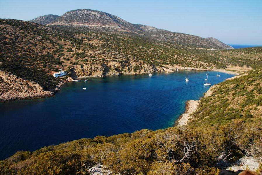 Sifnos Island Fykiada Beach  photo by www.sifnos.gr