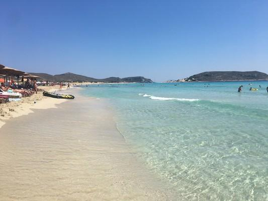 Agios Charalampos, Paros, Paros Island Megalos Simos Beach  Elafonisos Island - by konhat
