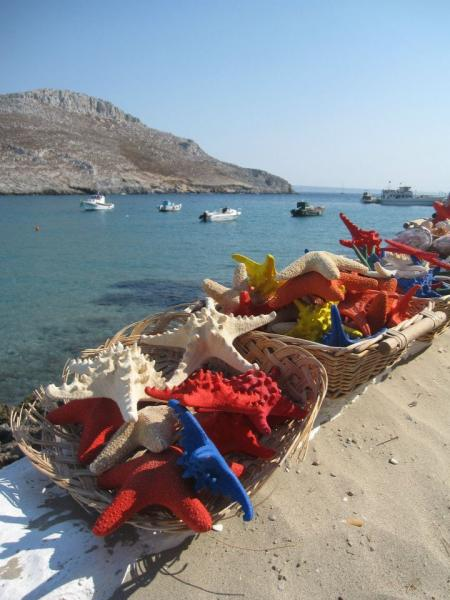 Pserimos Island Starfish in Pserimos  Photo by Anna Makarouna