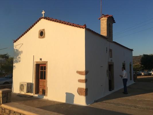 Panagia Katonisiotissa Church  Elafonisos - by konhat