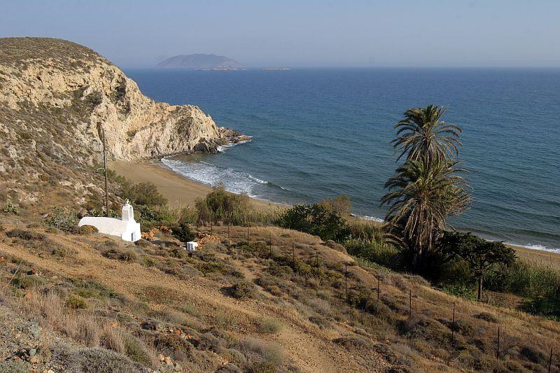 Anafi Island Kleisidi beach  Photo by www.anafi.gr