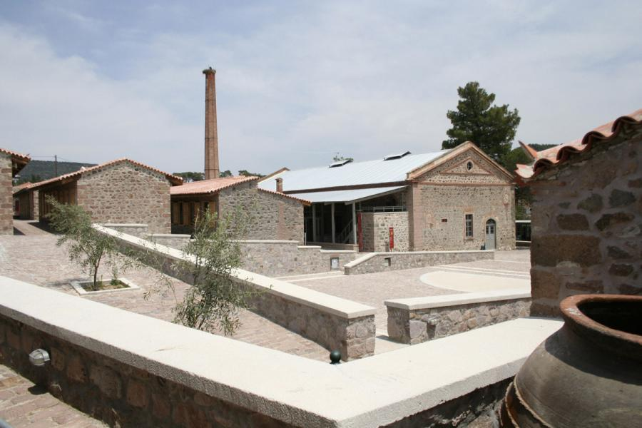 Lesvos Island The Museum of Industrial Olive-Oil Production of Lesvos  photo by Piraeus Bank Group Cultural Foundation