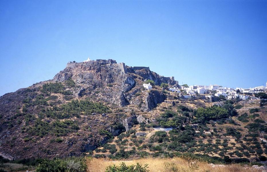 Kythira Island Castle of Kythira  photo by Ingo Mehling commons.wikimedia.org/wiki
