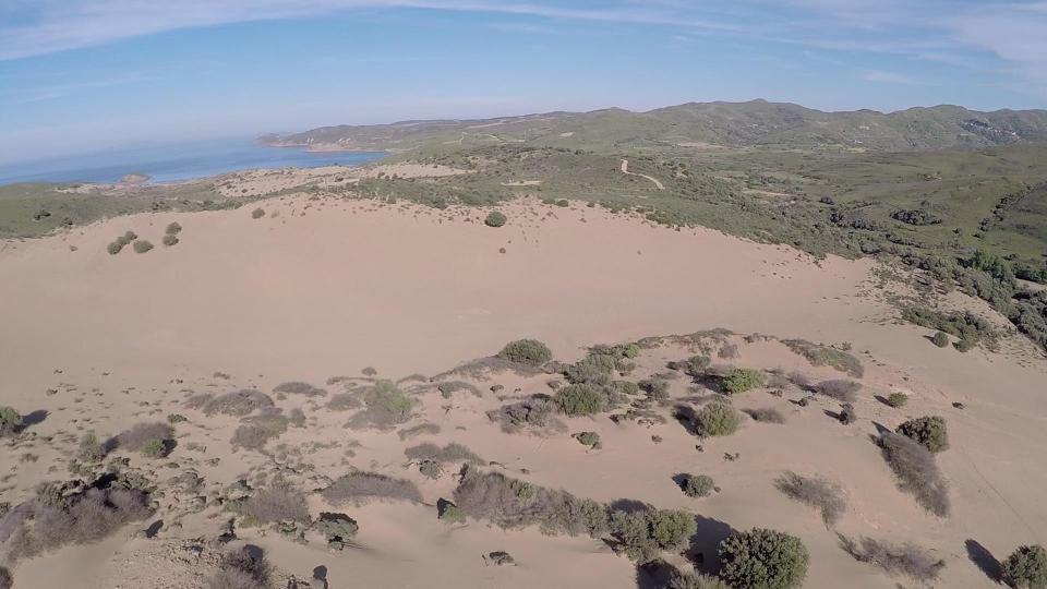 Lemnos Island Sand Dunes  Photo by Joy Aerials www.facebook.com/aerophotojoy