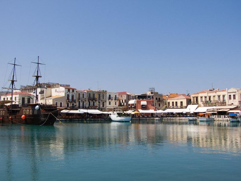 Imathia Venetian Harbour of Rethymnon  Photo by: wikipedia.org