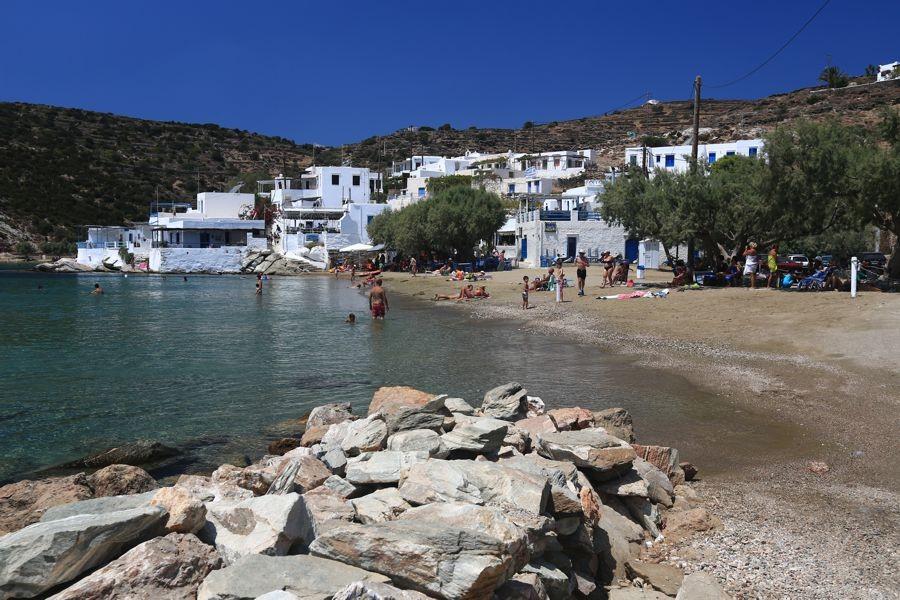 Sifnos Island Faros Beach  photo by www.sifnos.gr