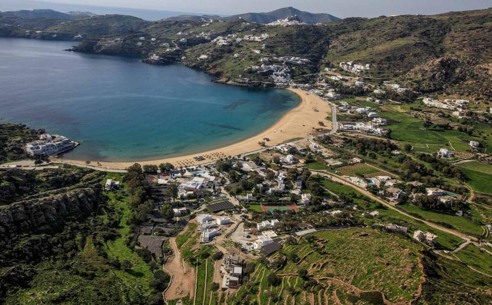 Ios Island Mylopotas beach  photo by www.ios.gr