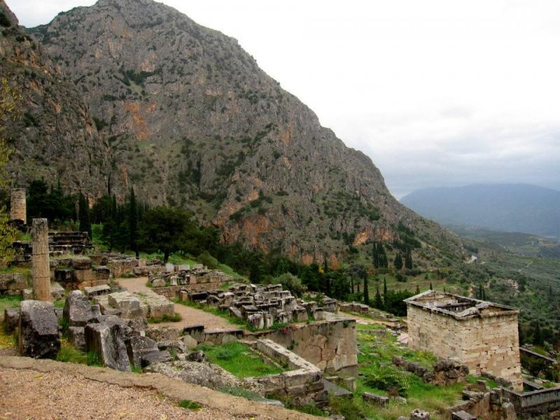 Delphi, Delphi, Phocis The navel of the earth  Delphi