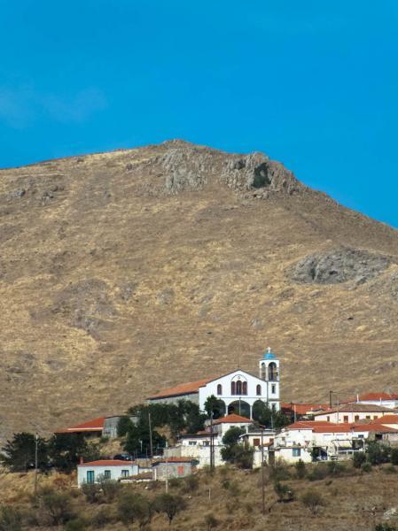 Platy, Lemnos<br>Agios Georgios church in Platy village, Lemnos island.  Photo by Ioannis Galiouris