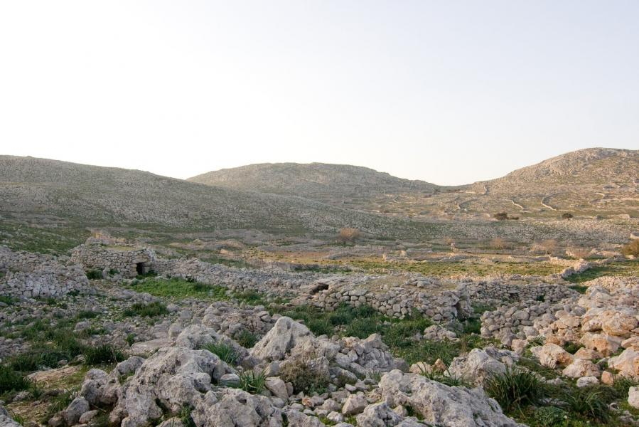 Halki Island The road to Ai Giannis Alargas
