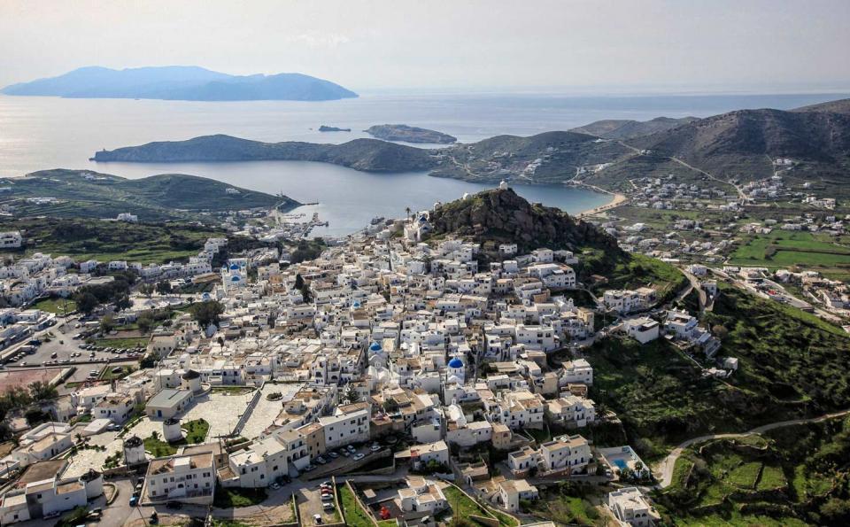 Ios Island Ios Chora  photo by www.ios.gr