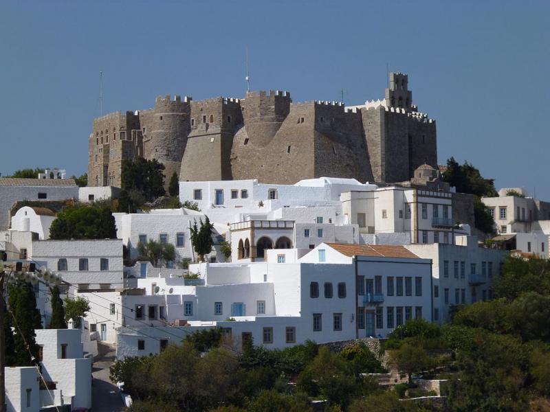 Patmos Chora, Patmos, Patmos Island Monastery of St John the Theologian
