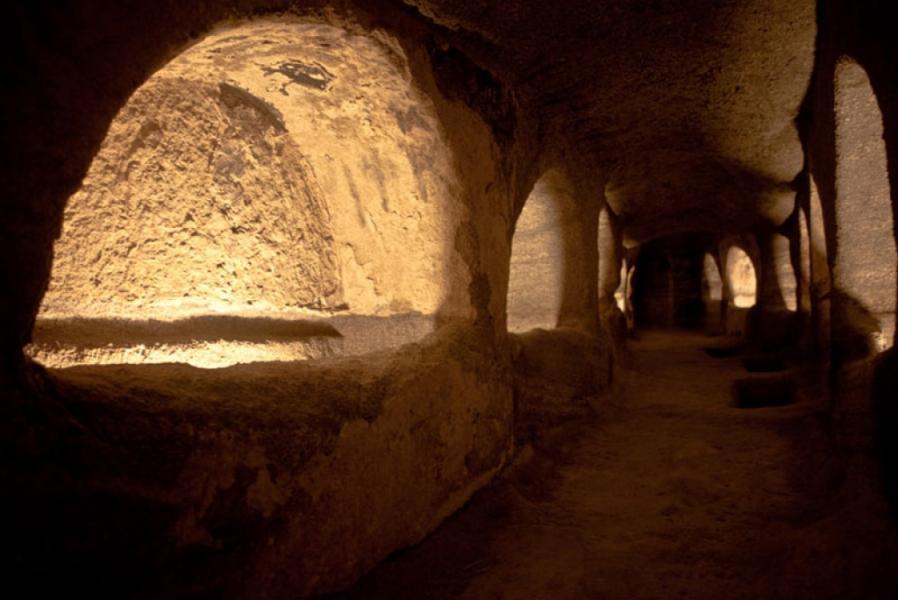 Milos Island Early Christian Catacombs  photo by www.milos.gr