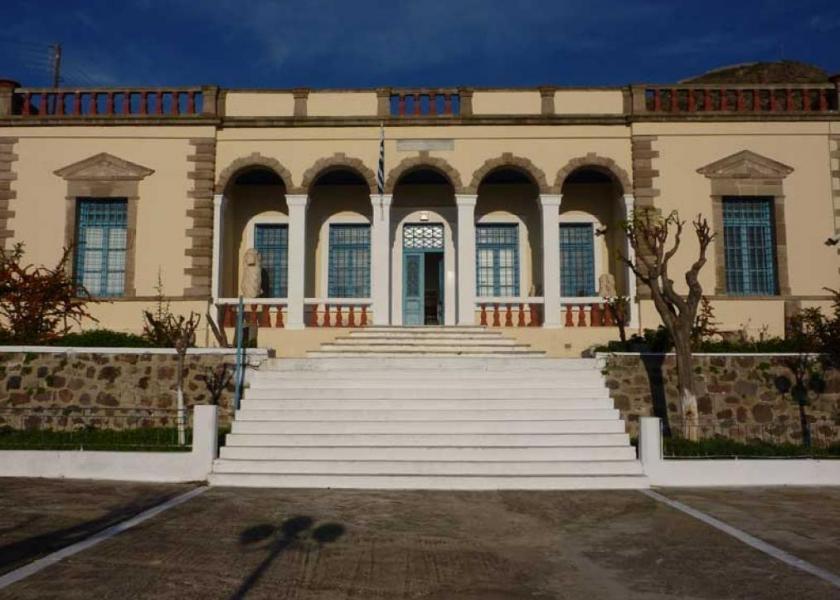 Milos Island Archaeological Museum of Milos  photo by www.milos.gr