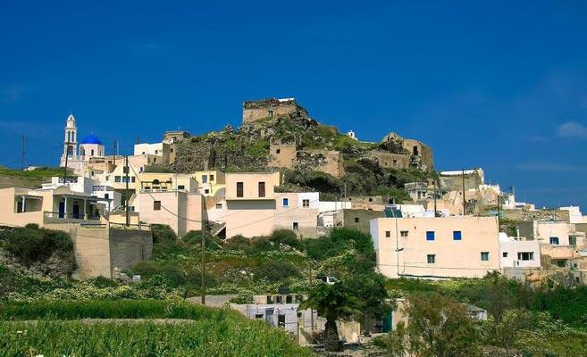 Agios Georgios - Doliana, Pogoni, Ioannina Akrotiri castle  photo by iannis Drenoyiannis, www.santorini.gr