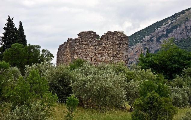 Neochori, Argos Mykines, Argolis Amfikleia Frankish Tower  photo by www.ancientgreece.gr
