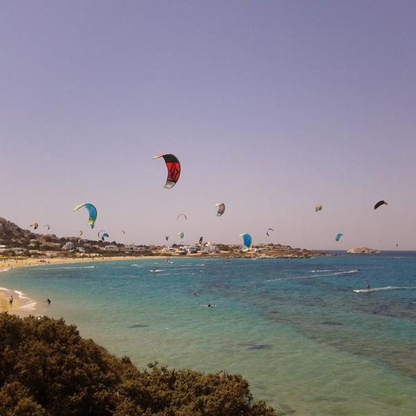 Rapsomaniki, Alexandria, Imathia Naxos  kite surf