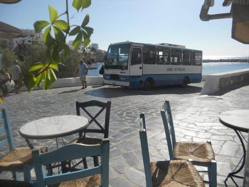 Astypalaia Island Astypalaia's bus  Local transport in Astypalaia