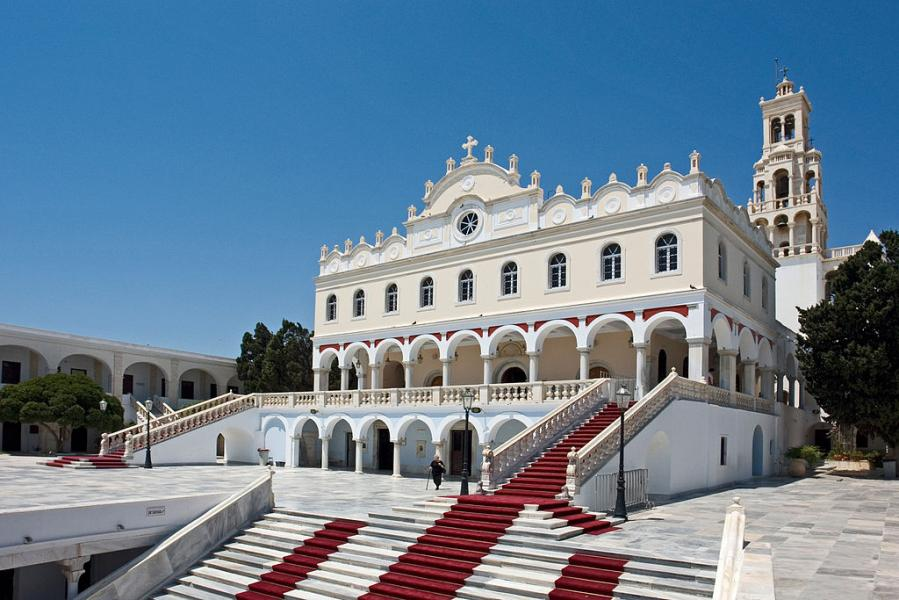 Tinos Island Our Lady of Tinos  photo by Hans Peter Schaefer commons.wikimedia.org