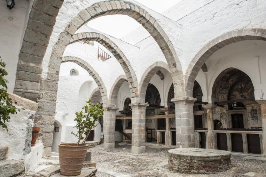 Patmos Chora, Patmos, Patmos Island Monastery of St. John the Theologian  Photo by Zoe Gampieraki