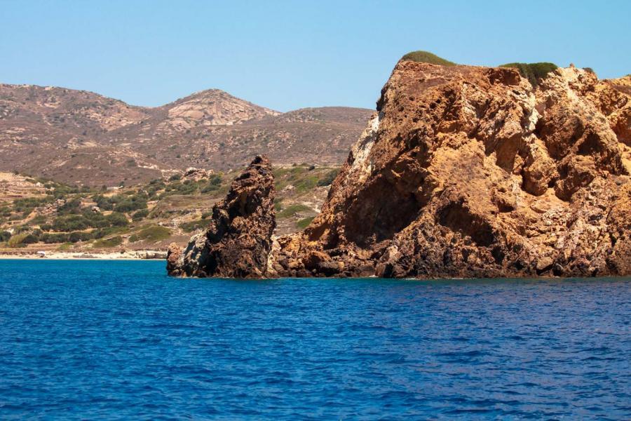 Kimolos Island Entrance to Dekas    - by adampao