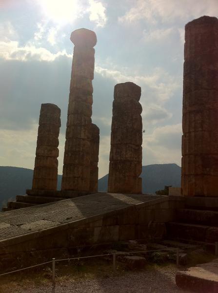 Delphi, Delphi, Phocis Delphi  The archaeological site