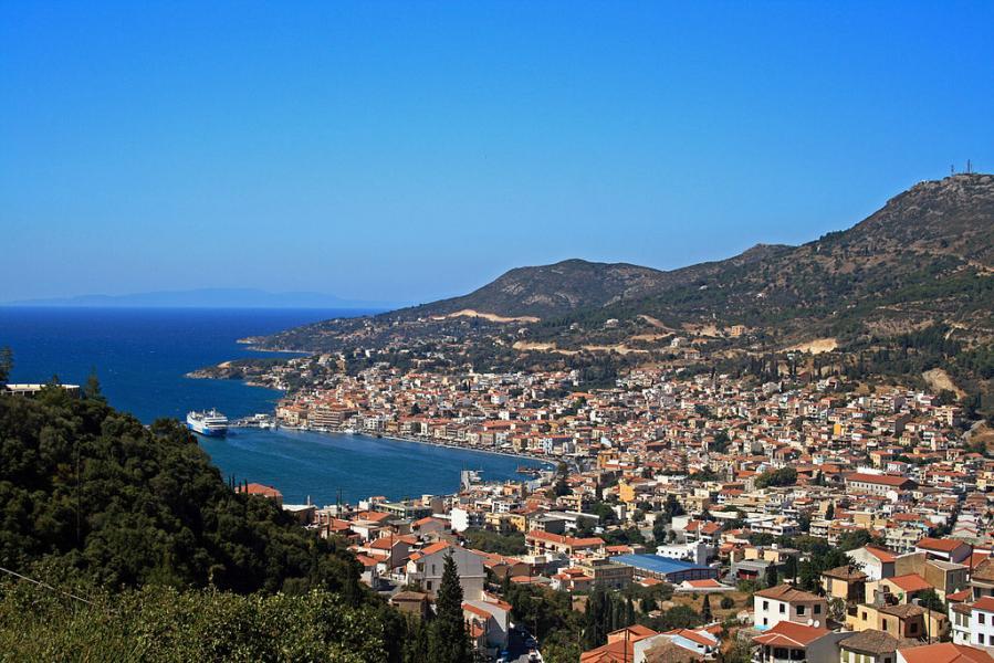 Samos Town - Kato Vathi, Samos, Samos Island Samos Town