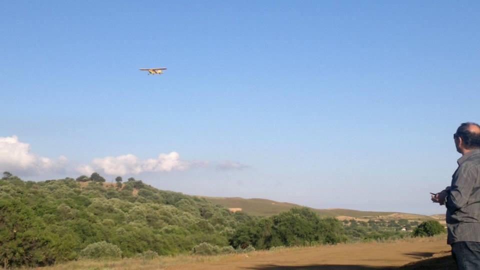 Myrina, Lemnos<br>Photo by Joy Aerials.  Aeromodelling in Myrina, Lemnos island.
