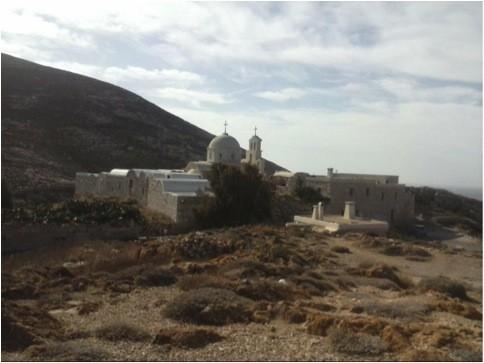 Anafi Island Monastery of Zoodochos Pigi  Photo by Sofia Kolyda