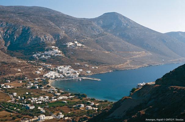 Ormos Aegialis, Amorgos, Amorgos Island Ormos Aegialis  photo by Y Skoulas, www.visitgreece.gr