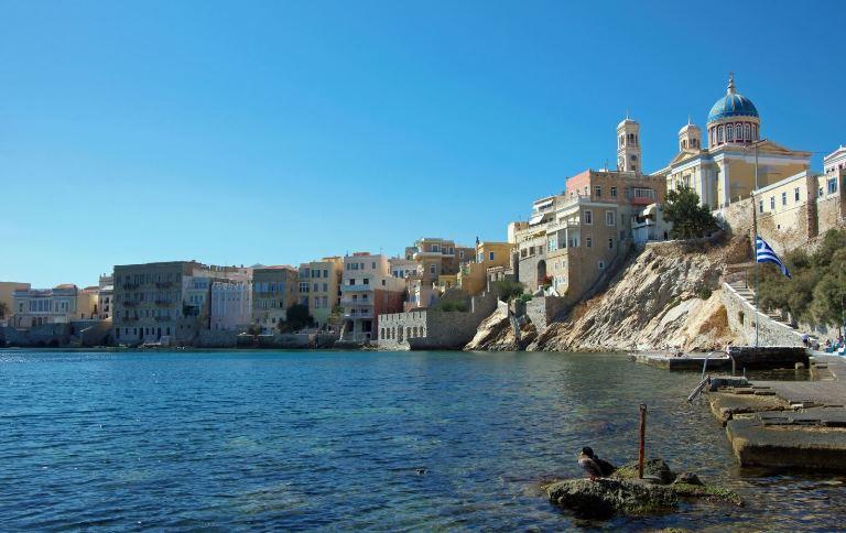 Ermoupoli, Syros, Syros Island Vaporia Neighbourhood