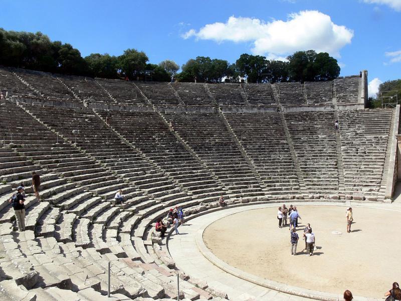 Archea Epidavros, Epidaurus, Argolis Ancient Theatre of Epidaurus