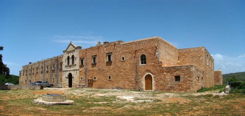 Rethymno Town, Rethymno, Rethymno Arkadi Monastery  Photo by: Tango7174 commons.wikimedia.org