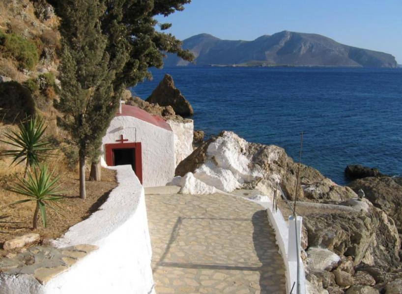 Leros Island Kavouradena Church  Photo by: Municipality of Leros