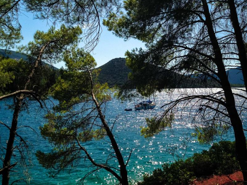 Ithaca Island Skinos bay    - by adampao