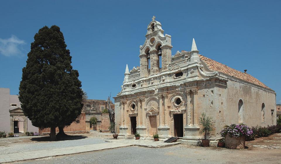 Rethymno Town, Rethymno, Rethymno Arkadi Monastery  Photo by: Jerzy Strzelecki commons.wikimedia.org