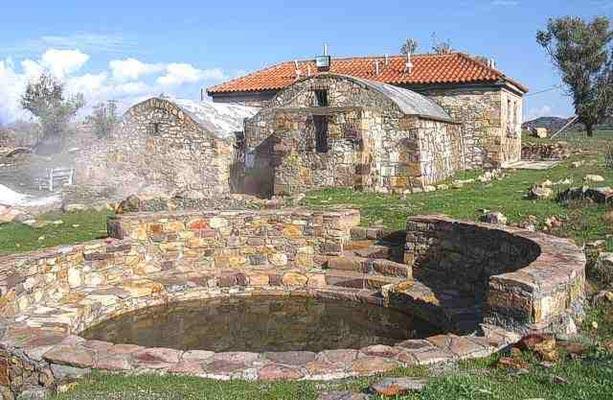 Geroplatanos, Igoumenitsa, Thesprotia Polichnitos Hot Springs  photo by Municipality of Lesvos
