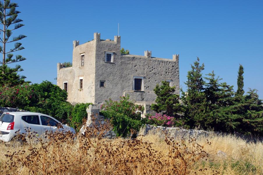 Naxos Island Belonia Tower  Photo by: Bgabel commons.wikimedia.org