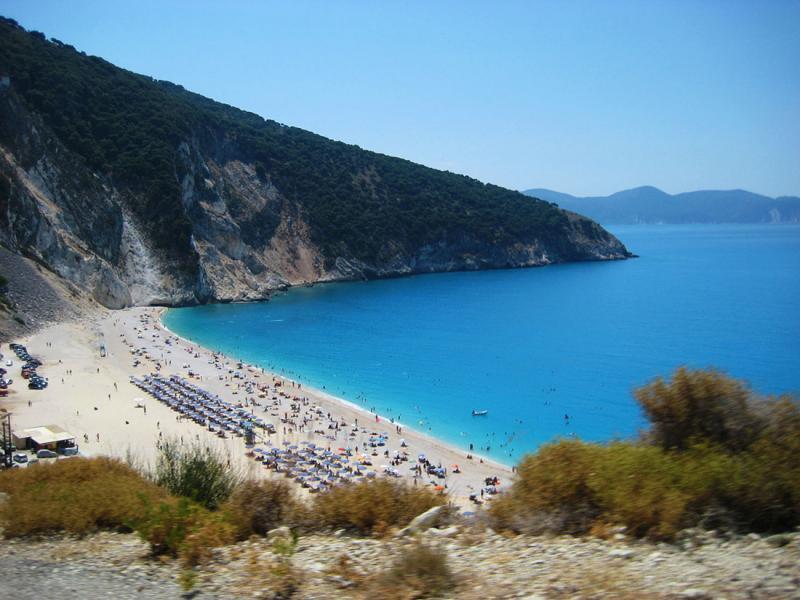Kefalonia Island Myrtos beach  Photo by Morgane Copolla