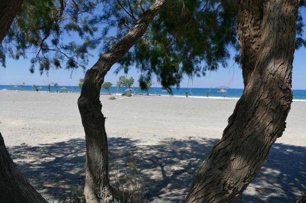 Delfini, Chios, Chios Island Afratias Beach - from view parking  Afratias Beach - from view parking - by HeikeW