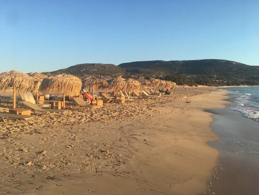 Aneratza, Paros, Paros Island Kato Nisi Beach  Sandy beach - by konhat