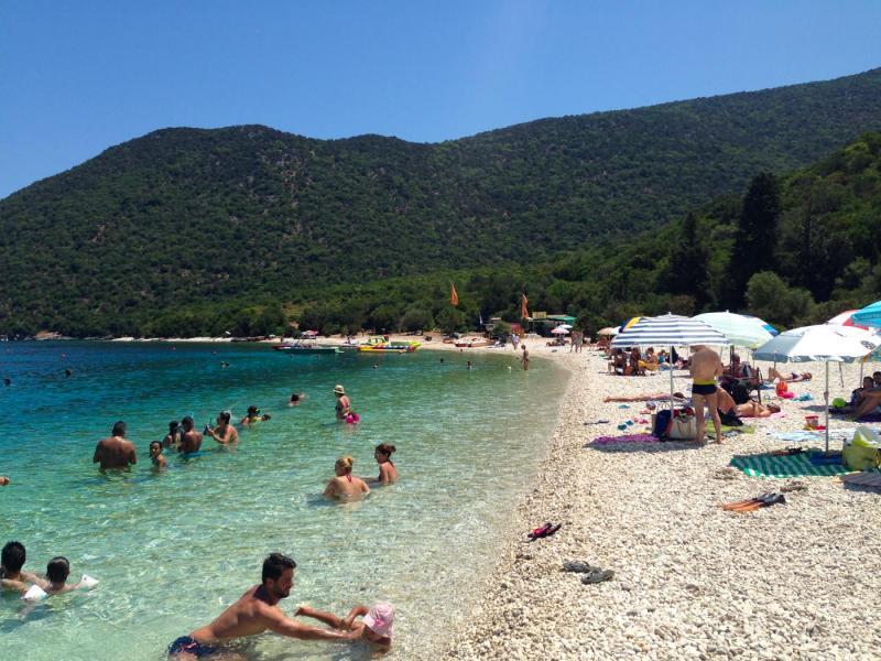 Kefalonia Island Antisamos beach