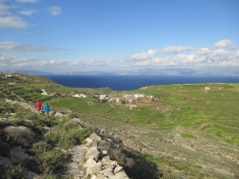 Chalandriani, Syros, Syros Island Foodpath near Pherecydes Cave  Foodpath from Richop to Plati Vouni close to Pherecydes Cave