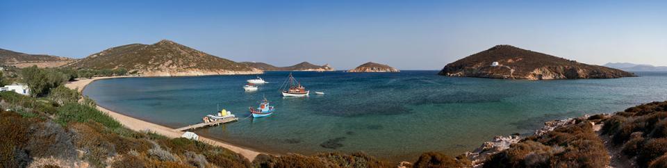Patmos Island Livadi tou Geranou beach  photo by www.patmos.gr