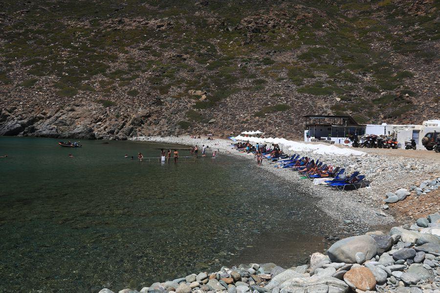 Sifnos Island Vroulidia Beach  photo by www.sifnos.gr