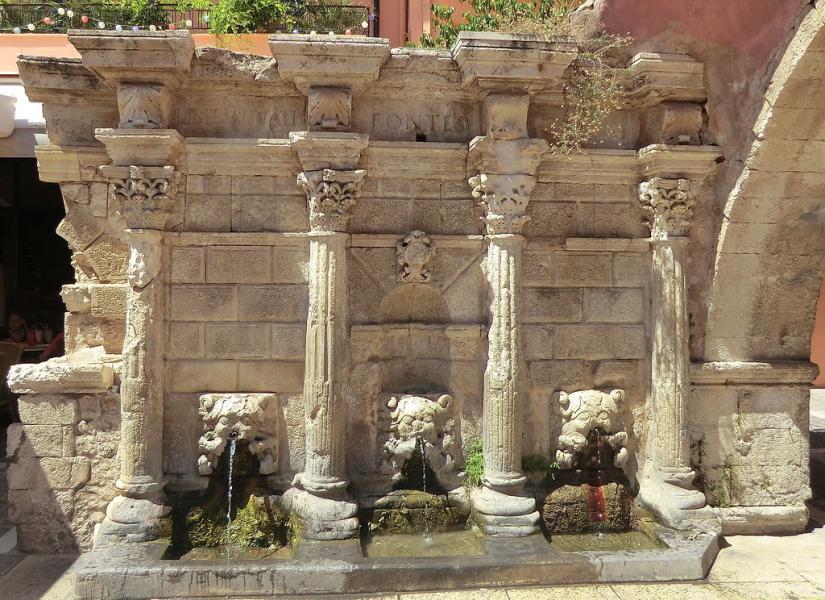 Stagira, Aristotelis, Halkidiki Rimondi Fountain  photo by Benoît Prieur commons.wikimedia.org