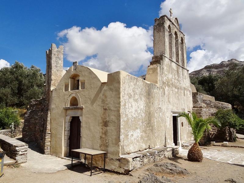 Naxos Island Panagia Drodiani Church  Photo By: Olaf Tausch commons.wikimedia.org