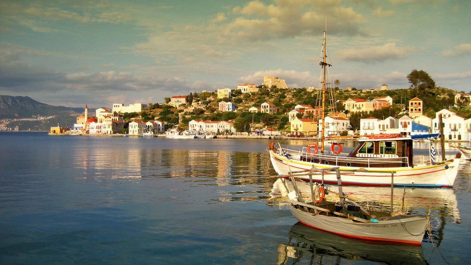 Kastellorizo Island Port of Kastellorizo